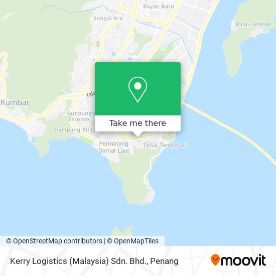 Kerry Logistics (Malaysia) Sdn. Bhd. map