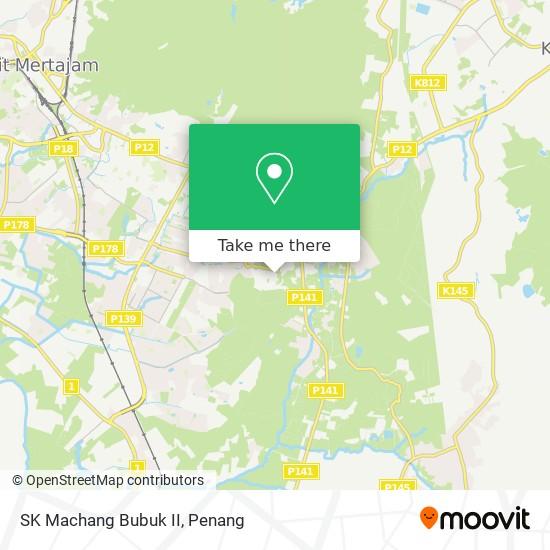 Peta SK Machang Bubuk II