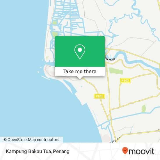 Peta Kampung Bakau Tua