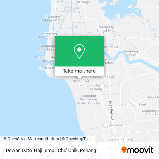 Peta Dewan Dato' Haji Ismail Che' Chik