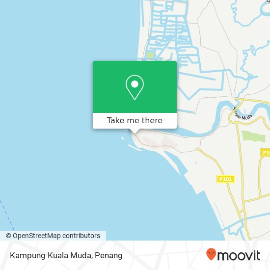 Peta Kampung Kuala Muda