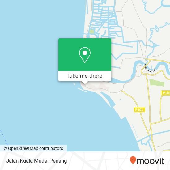 Peta Jalan Kuala Muda