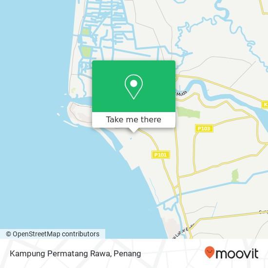 Kampung Permatang Rawa地图