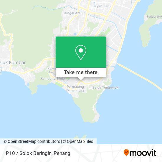 P10 / Solok Beringin map