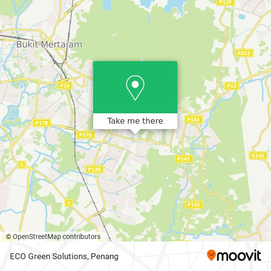 ECO Green Solutions map