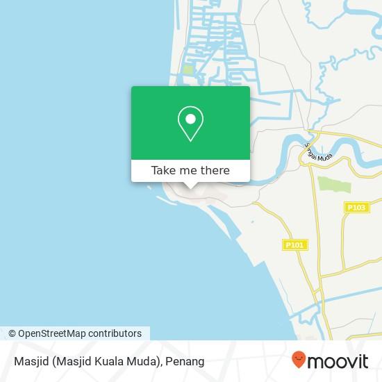 Masjid (Masjid Kuala Muda)地图