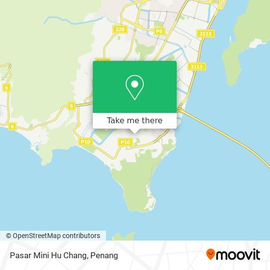 Pasar Mini Hu Chang map