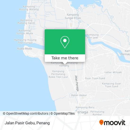 Jalan Pasir Gebu地图