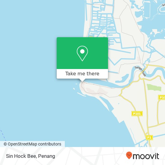 Sin Hock Bee地图