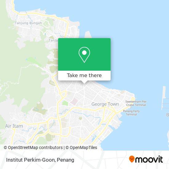 Institut Perkim-Goon map
