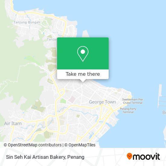 Sin Seh Kai Artisan Bakery map