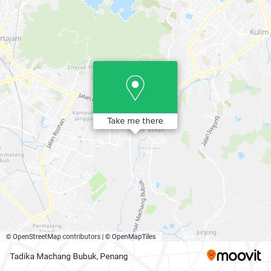 Peta Tadika Machang Bubuk