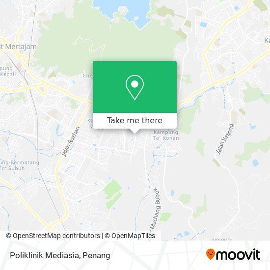 Peta Poliklinik Mediasia
