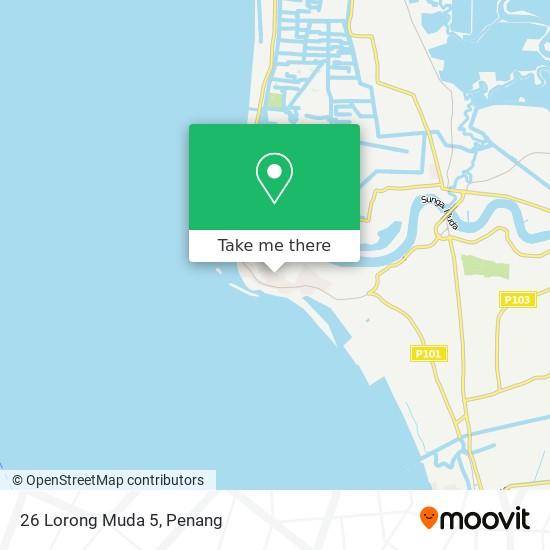 Peta 26 Lorong Muda 5