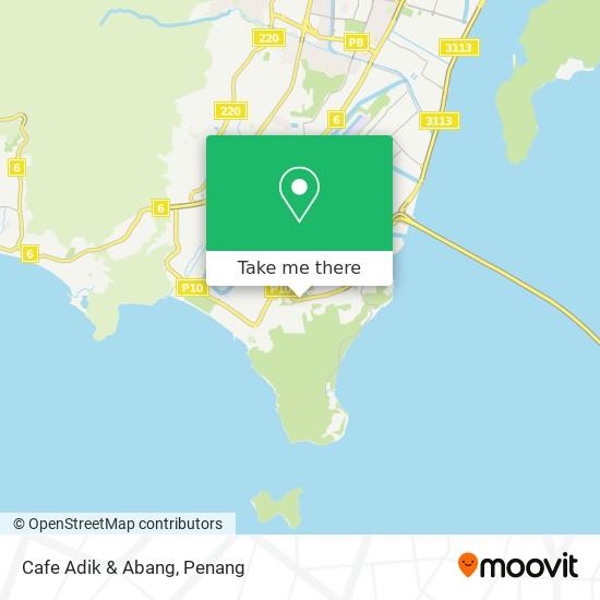 Cafe Adik & Abang map