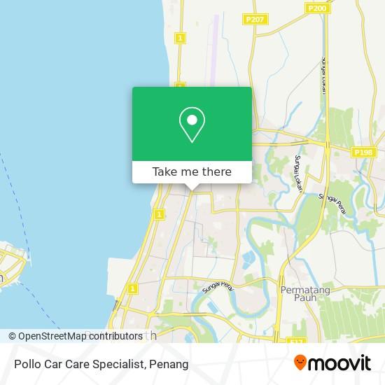 Pollo Car Care Specialist map