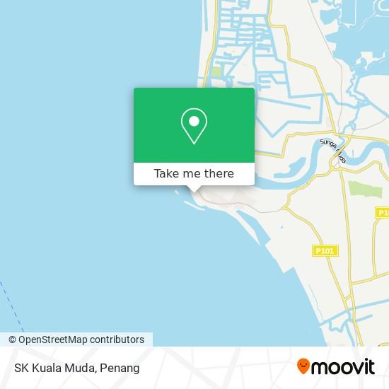Peta SK Kuala Muda