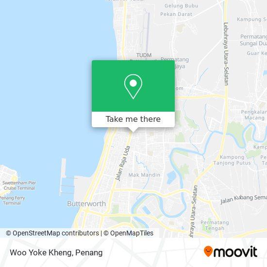 Woo Yoke Kheng map