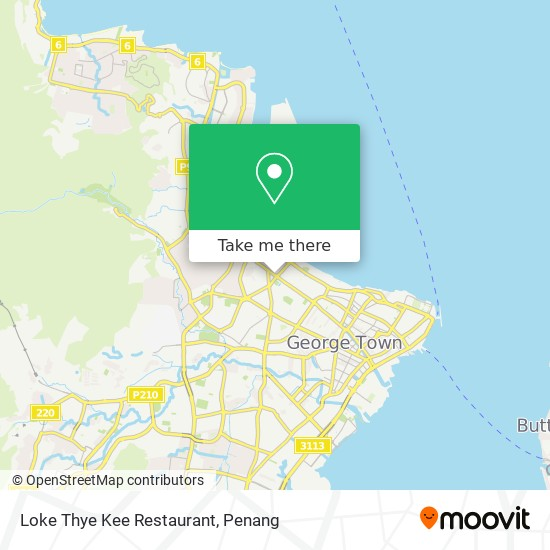 Loke Thye Kee Restaurant map