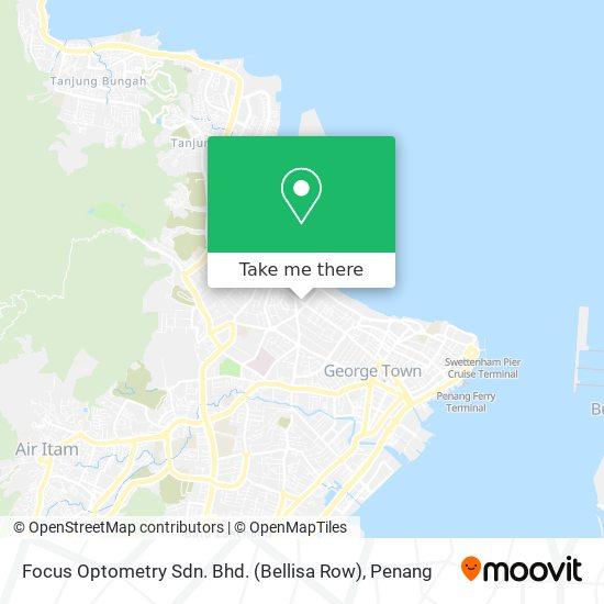 Focus Optometry Sdn. Bhd. (Bellisa Row) map