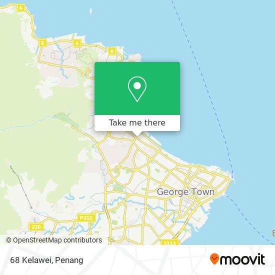 68 Kelawei map