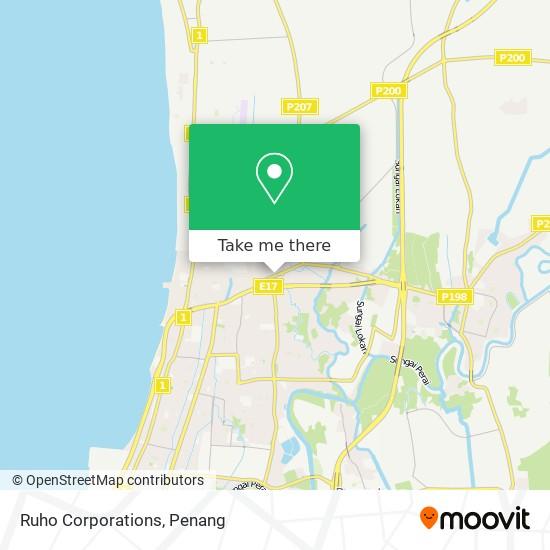 Ruho Corporations地图