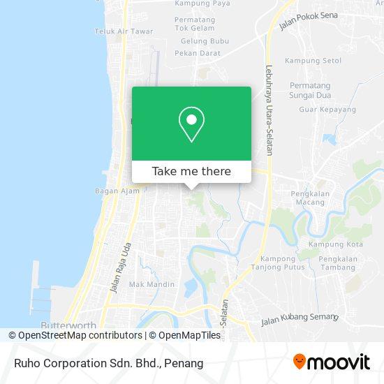 Ruho Corporation Sdn. Bhd.地图