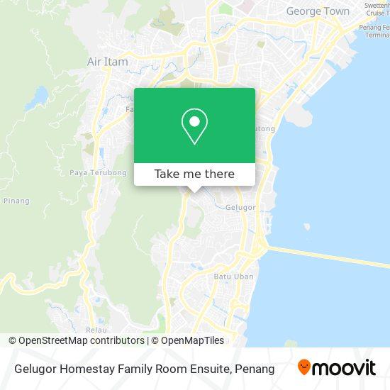 Gelugor Homestay Family Room Ensuite地图