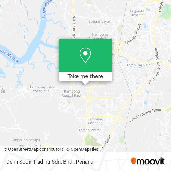 Denn Soon Trading Sdn. Bhd.地图