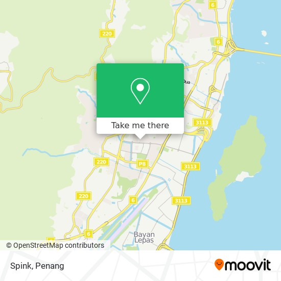 Spink地图
