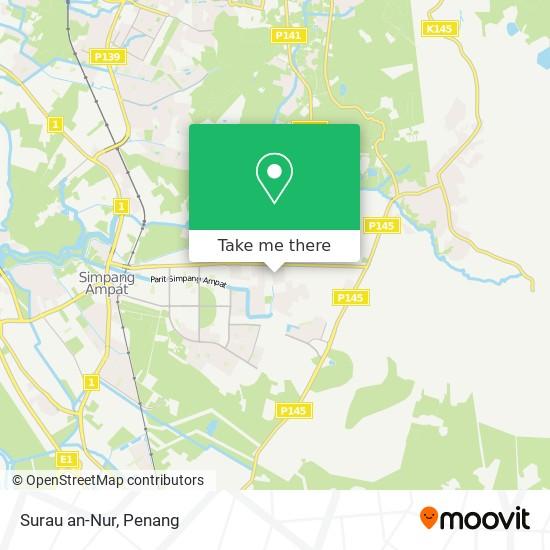 Surau an-Nur地图
