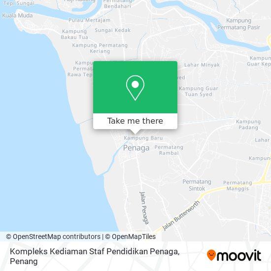 Kompleks Kediaman Staf Pendidikan Penaga地图