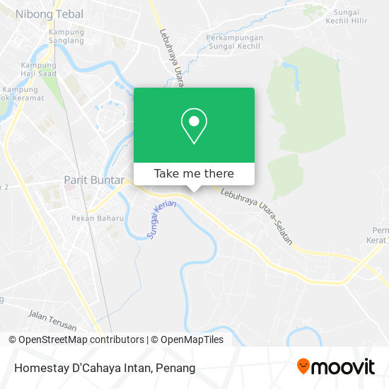 Homestay D'Cahaya Intan地图