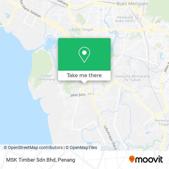 MSK Timber Sdn Bhd地图