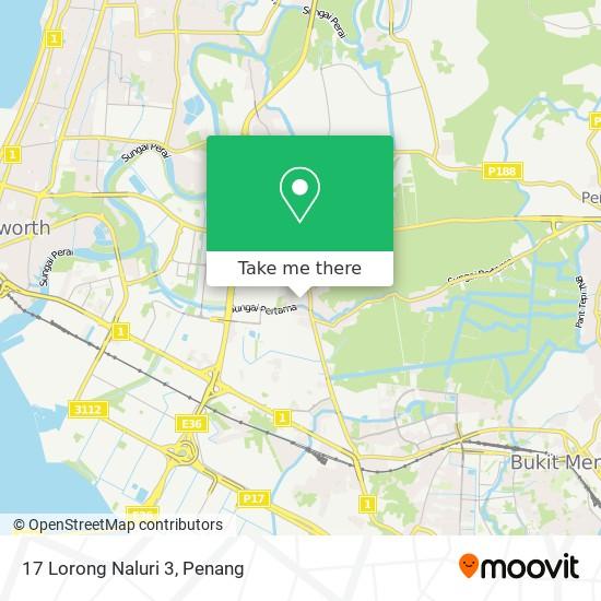 17 Lorong Naluri 3 map