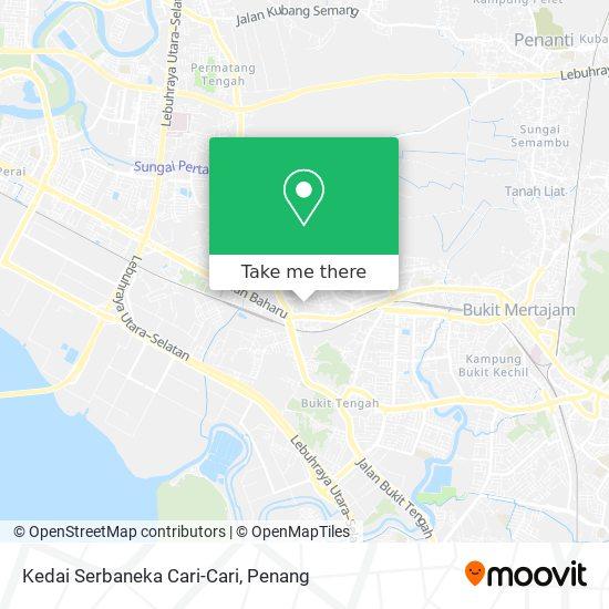 Kedai Serbaneka Cari-Cari map