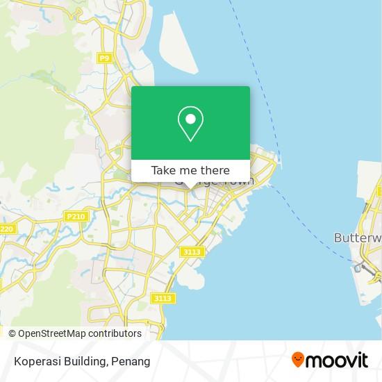 Koperasi Building地图