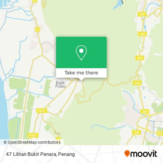 47 Lilitan Bukit Penara map