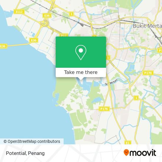Potential地图