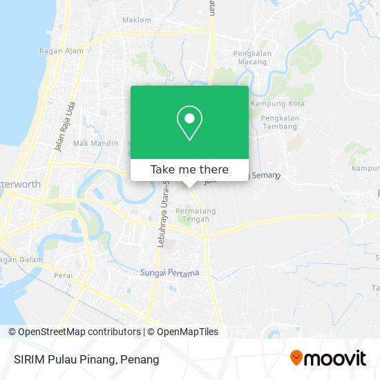 SIRIM Pulau Pinang地图