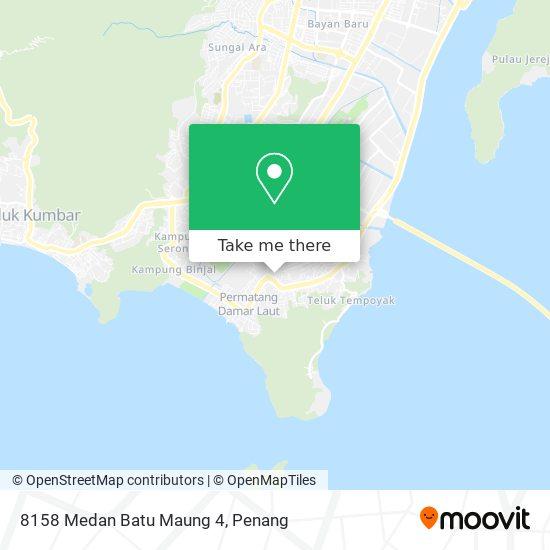 8158 Medan Batu Maung 4 map