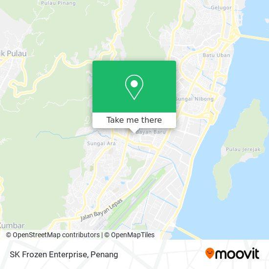 SK Frozen Enterprise地图