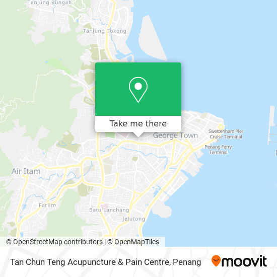 Tan Chun Teng Acupuncture & Pain Centre map