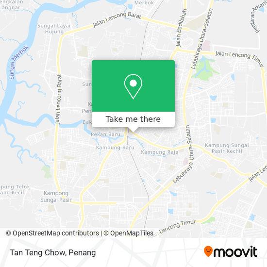 Tan Teng Chow地图