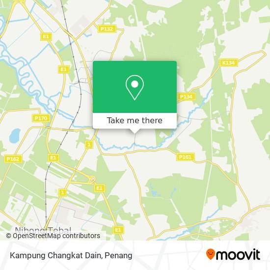 Kampung Changkat Dain地图