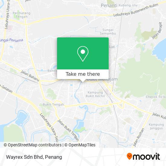 Wayrex Sdn Bhd地图