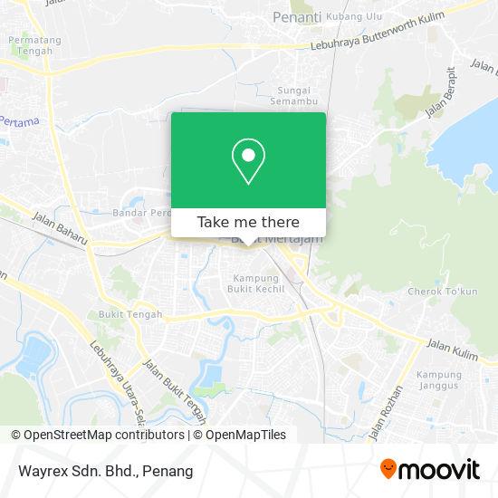 Wayrex Sdn. Bhd.地图