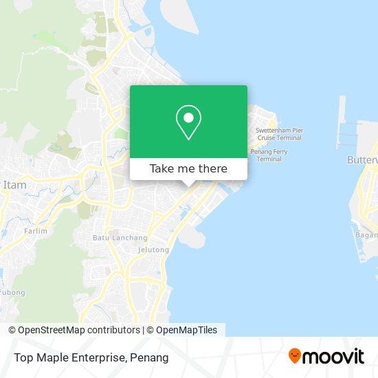 Peta Top Maple Enterprise