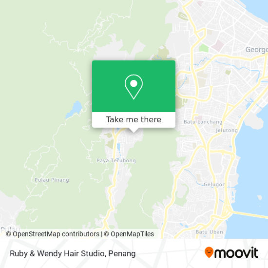 Ruby & Wendy Hair Studio map