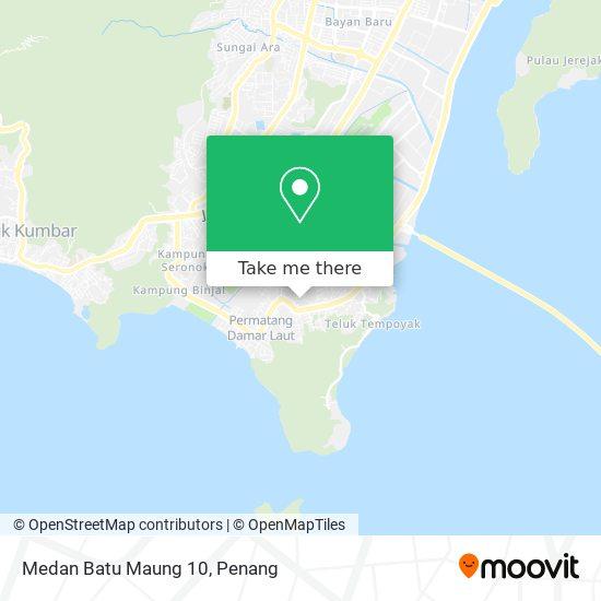 Peta Medan Batu Maung 10
